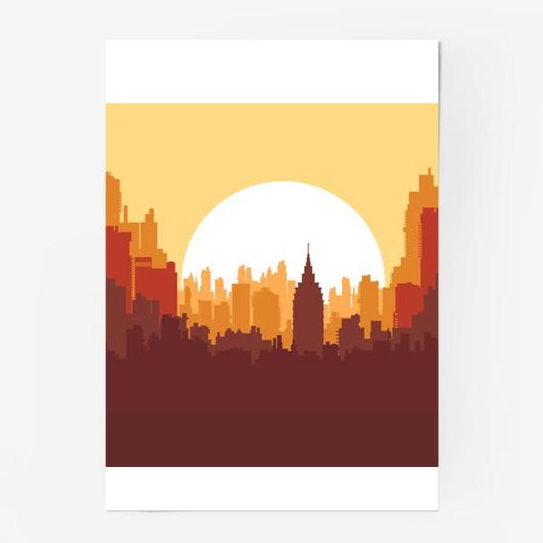 Постер «Sunset»