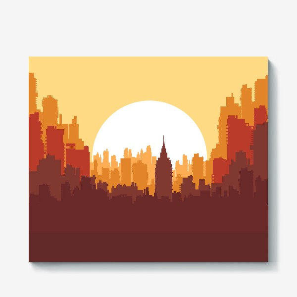 Холст «Sunset»