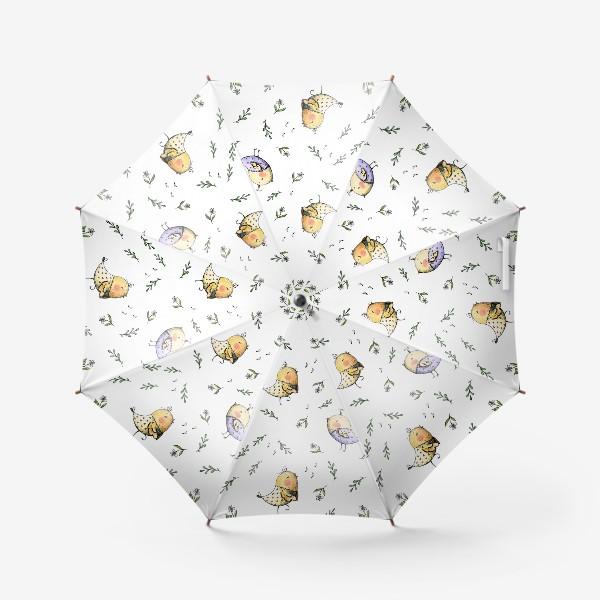 Зонт «Поющие птички»