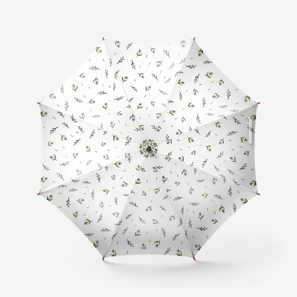 Зонт «Растительный паттерн»