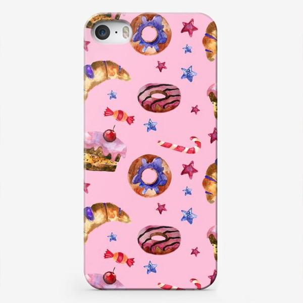 Чехол iPhone «Паттерн сладенький»