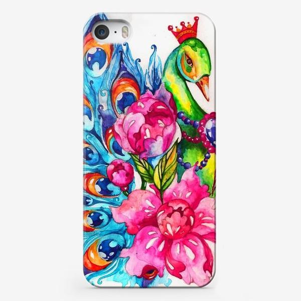 Чехол iPhone «Павлиша»