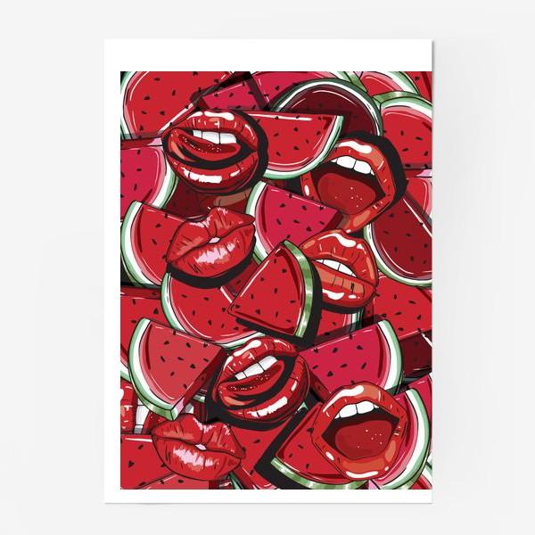 Постер «Sweet lips»
