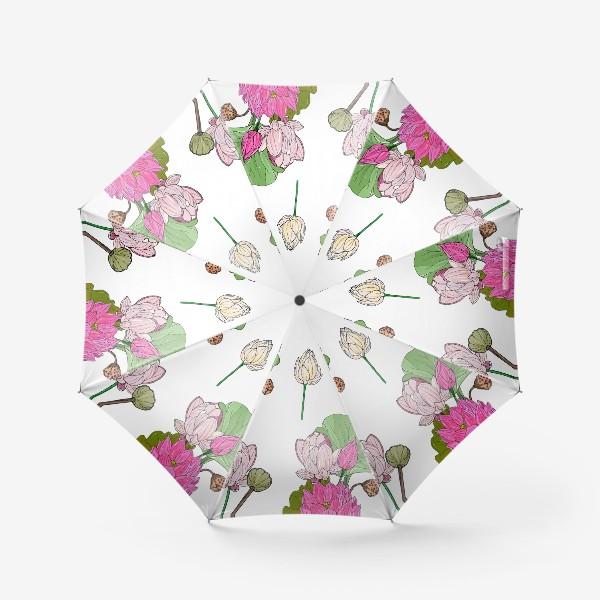 Зонт «лотосы»