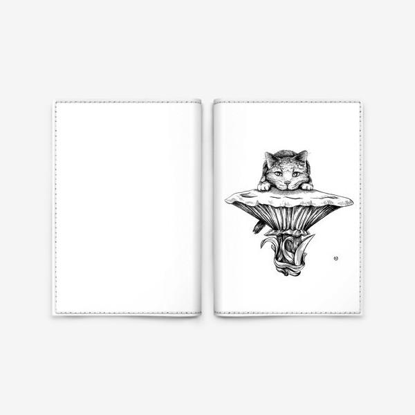 Обложка для паспорта «The Cheshire»