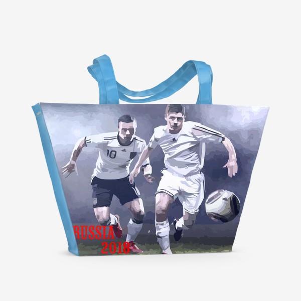 Пляжная сумка «Футбол 2018»