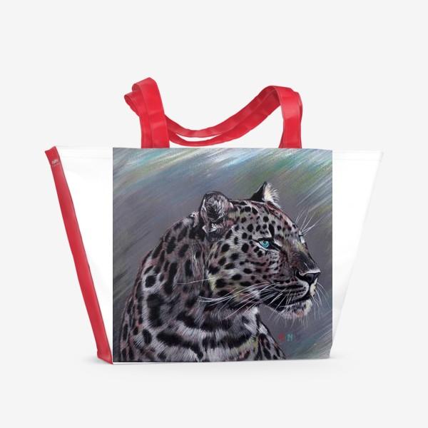 Пляжная сумка «Ягуар »