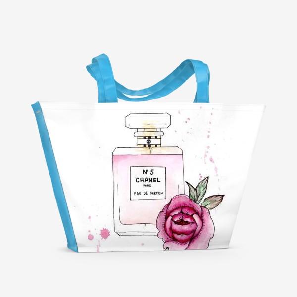 Пляжная сумка «шанель»