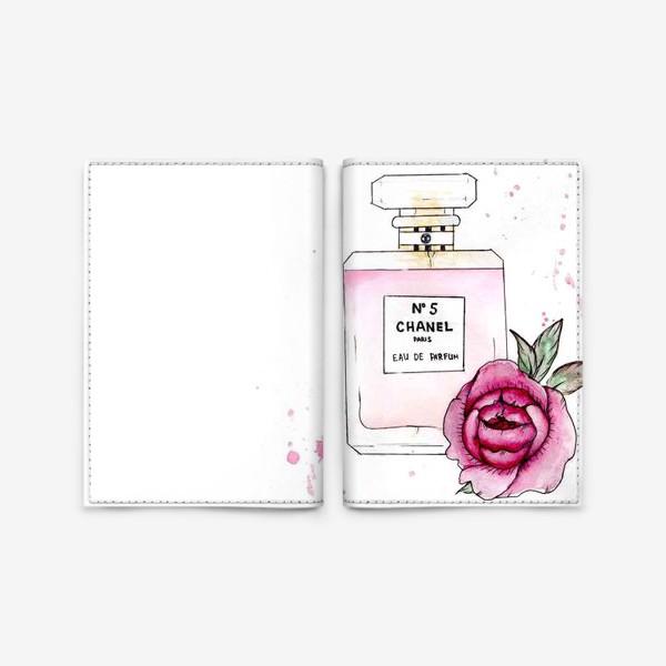 Обложка для паспорта «шанель»