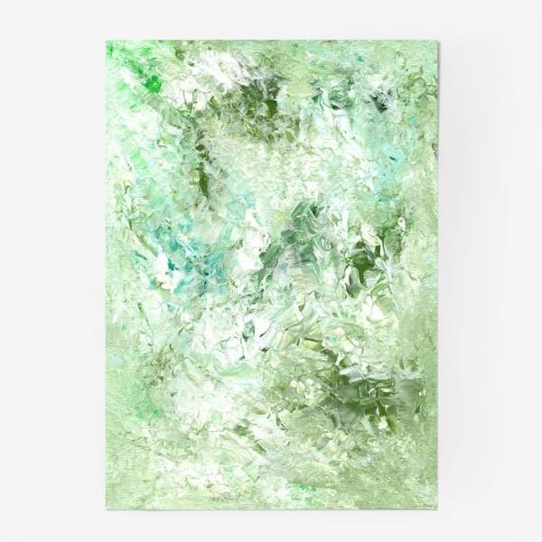 Постер «Зеленый. Мятная свежесть.»