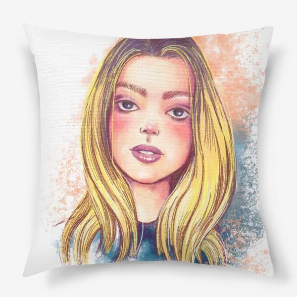 Подушка «Girl»