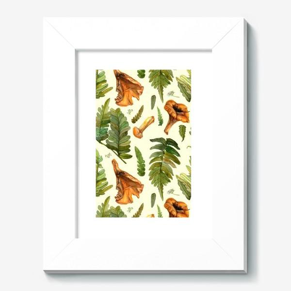 Картина «Лисички и папоротник»