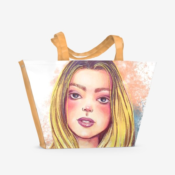 Пляжная сумка «Girl»