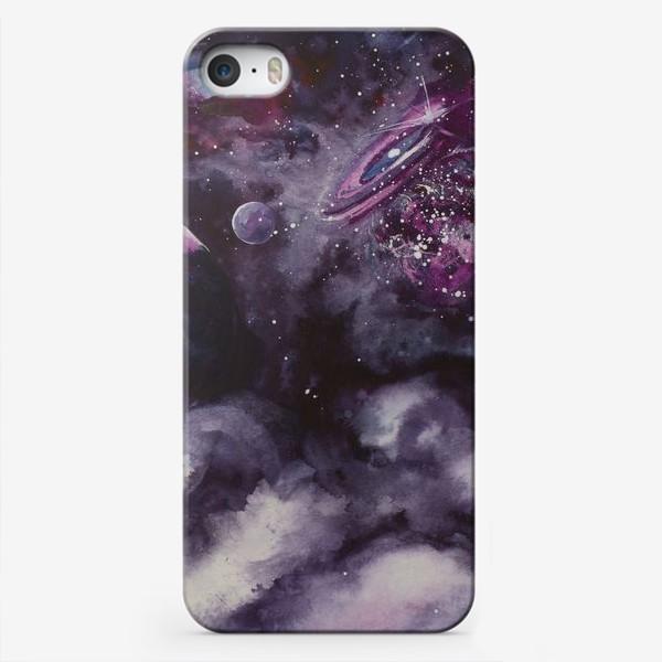 Чехол iPhone «Сиреневый космос»