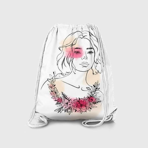 Рюкзак «В лучах розового заката»