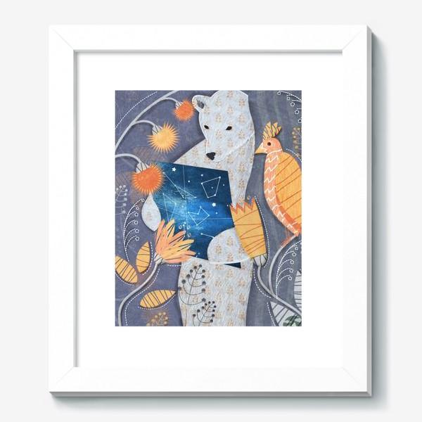 Картина «мишка ищет выxод»