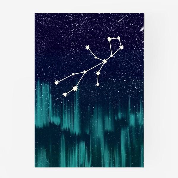 Постер «Зодиак Дева. Северное сияние»
