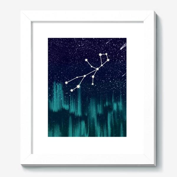 Картина «Зодиак Дева. Северное сияние»