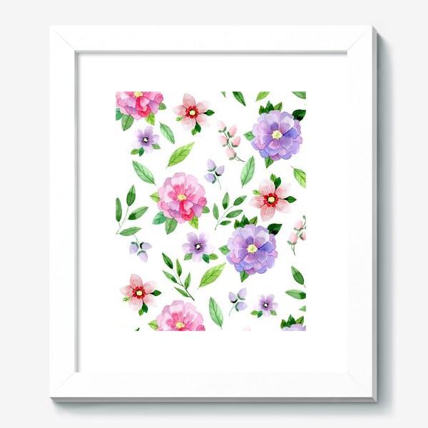 Картина «Цветочный узор»