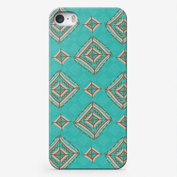 Чехол iPhone «Плитка из ромбов»