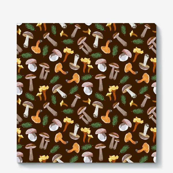Холст «Fall mushrooms»