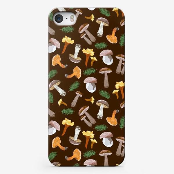 Чехол iPhone «Fall mushrooms»