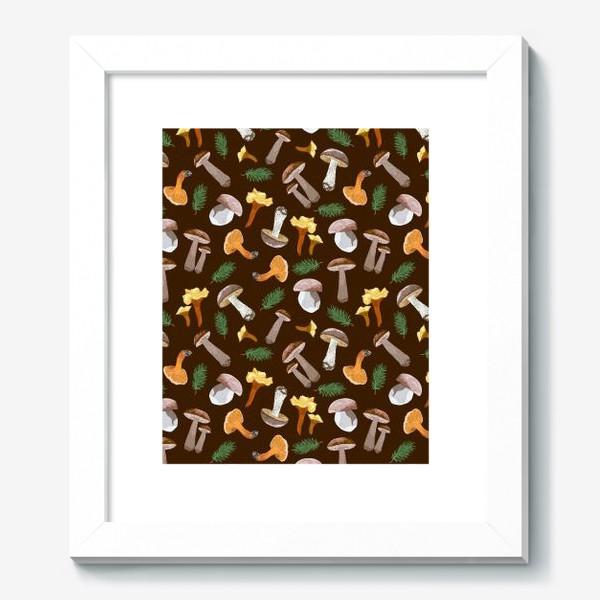 Картина «Fall mushrooms»