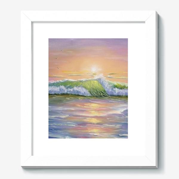 Картина «Восход над морем»
