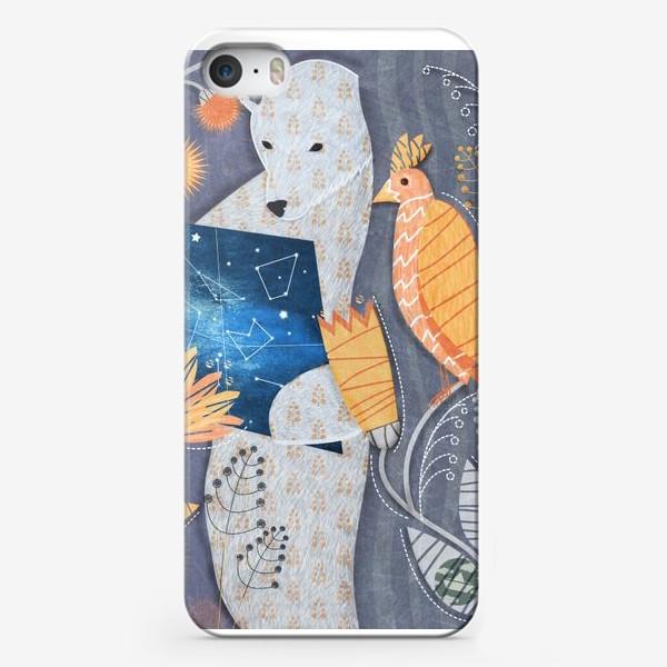 Чехол iPhone «мишка ищет выxод»