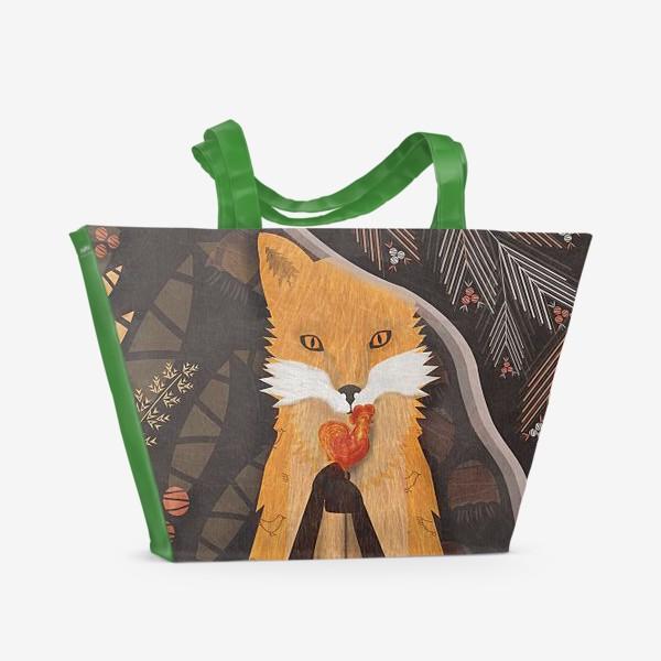 Пляжная сумка «конфетка-петтушок»