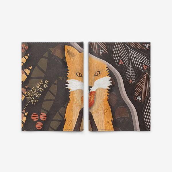 Обложка для паспорта «конфетка-петтушок»