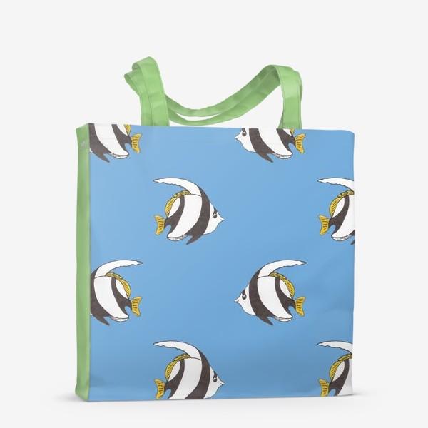 Сумка-шоппер «Тропические рыбки»