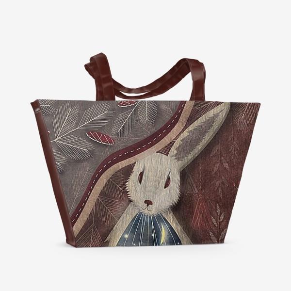 Пляжная сумка «Спасшийся и спасший»