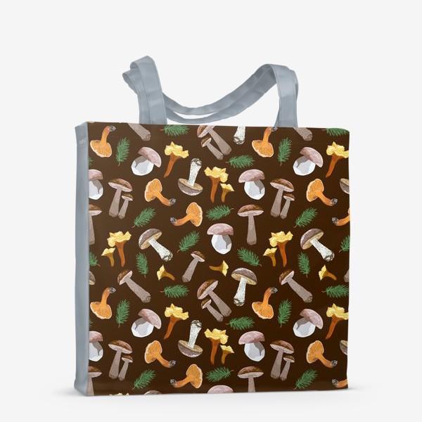 Сумка-шоппер «Fall mushrooms»