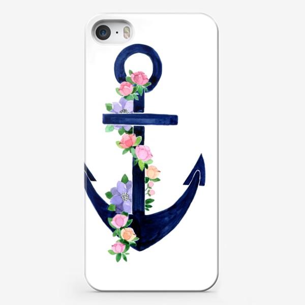 Чехол iPhone «Якорь»