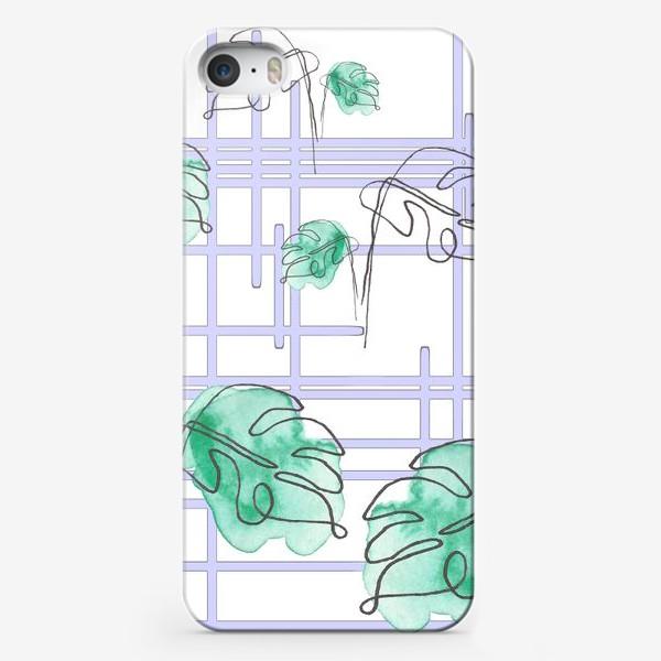 Чехол iPhone «Монстера»