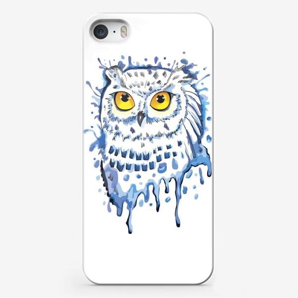 Чехол iPhone «Полярная сова. Мир Гарри Поттера.»