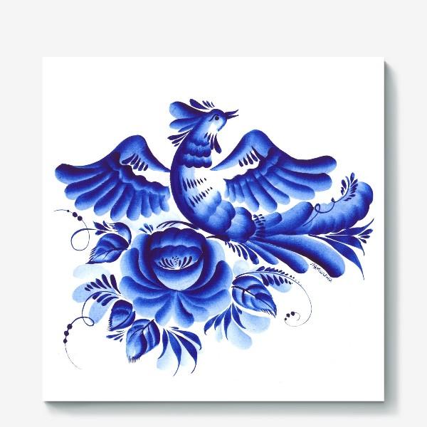 Холст «Синяя птица»