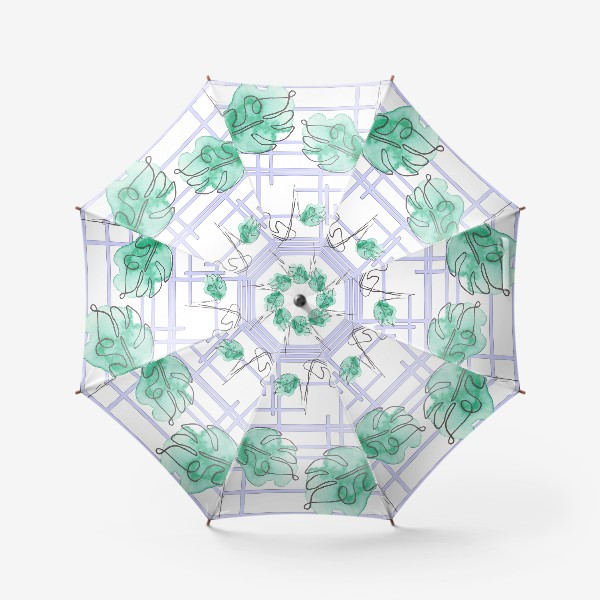 Зонт «Монстера»