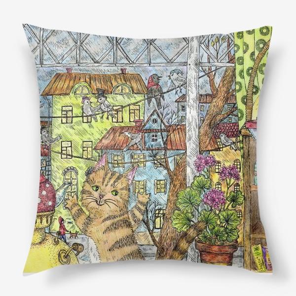 Подушка «Осенним днём»