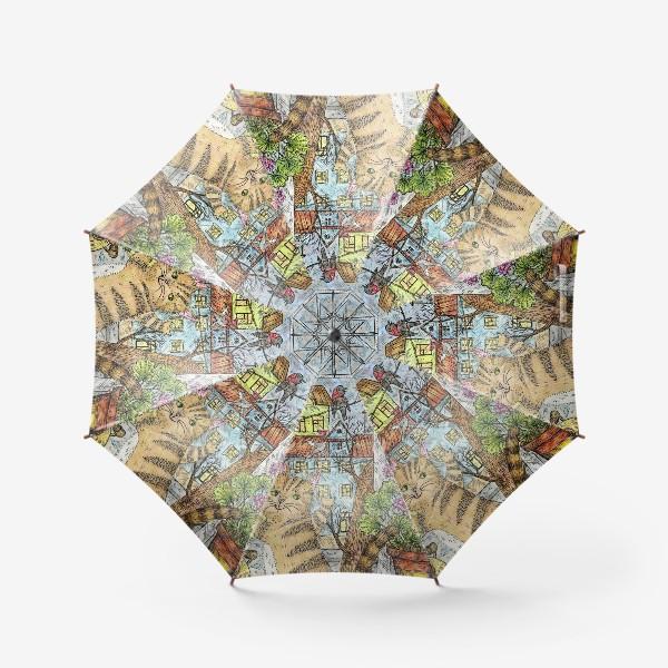 Зонт «Осенним днём»