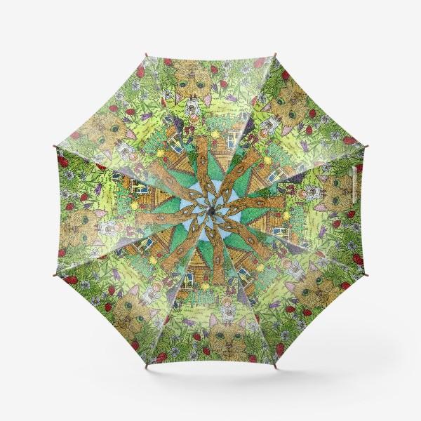 Зонт «Земляничное утро»