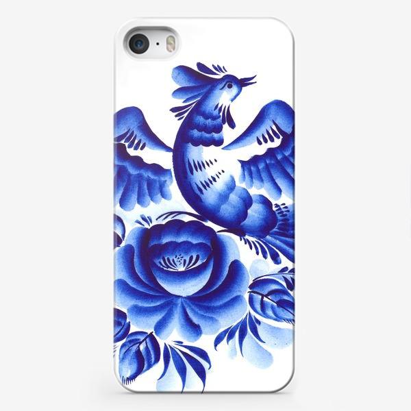 Чехол iPhone «Синяя птица»