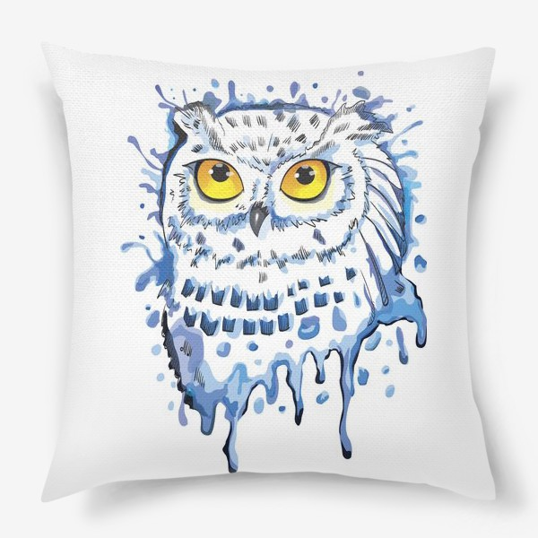 Подушка «Полярная сова. Мир Гарри Поттера.»