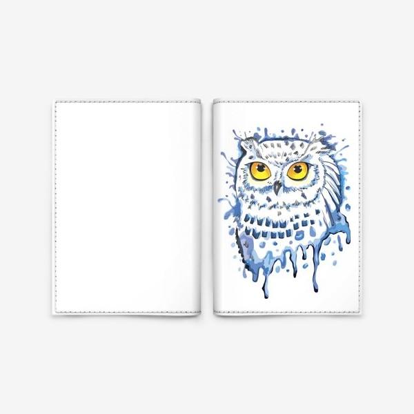Обложка для паспорта «Полярная сова. Мир Гарри Поттера.»