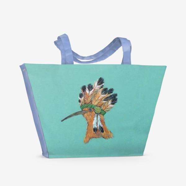 Пляжная сумка «индеец »