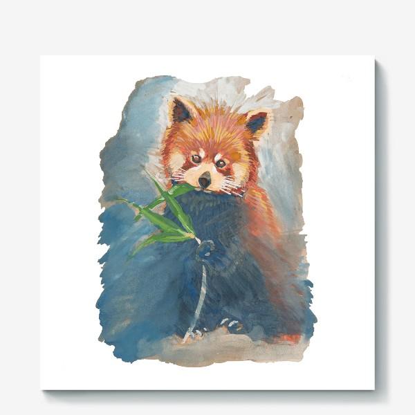 Холст «Красная панда»