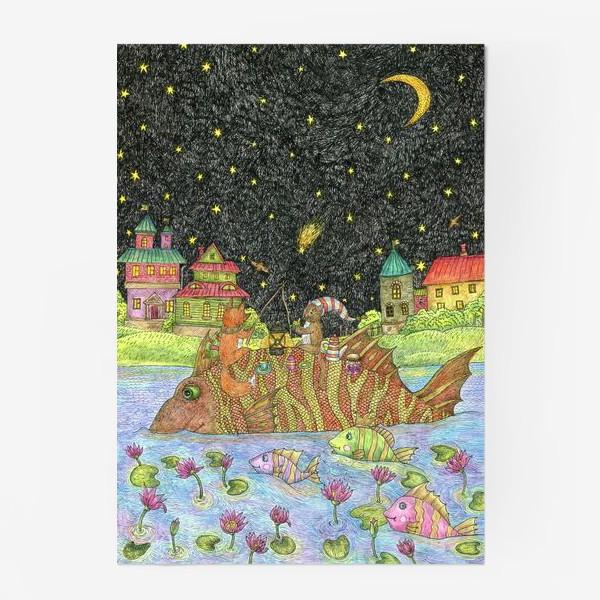 Постер «Путешествие кота и лиса»
