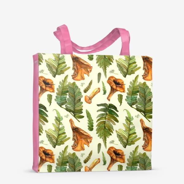 Сумка-шоппер «Лисички и папоротник»