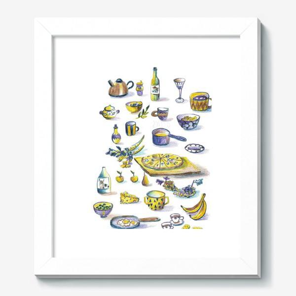 Картина «Посудная лавка»